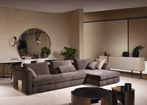 Montecarlo Sectional Sofa, Cantori Italy