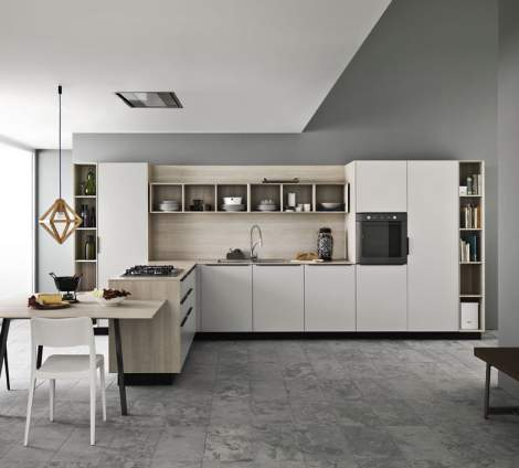 Ariel Ash Kitchen Composition, Cesar Italy