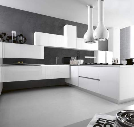 Ariel Eco-Gloss Kitchen Composition, Cesar Italy