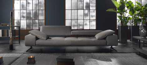 Blue A/B Sofa, Cierre Italy