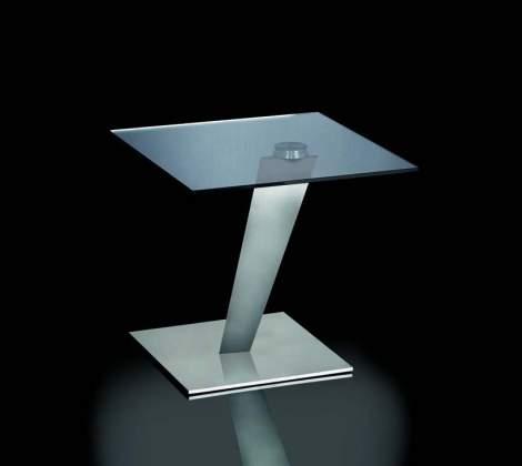 Calypso Lamp Side Table, Naos Italy