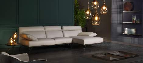 Crystal Sectional Sofa, Cierre Italy