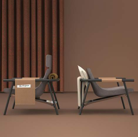 Eddy Lounge Chair, Bonaldo Italy