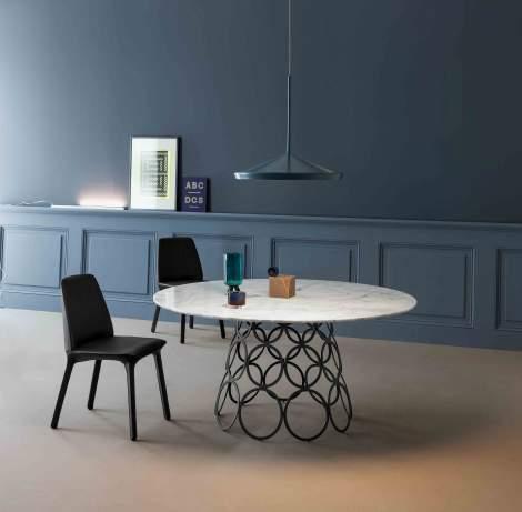 Hulahoop Round Dining Table, Bonaldo Italy