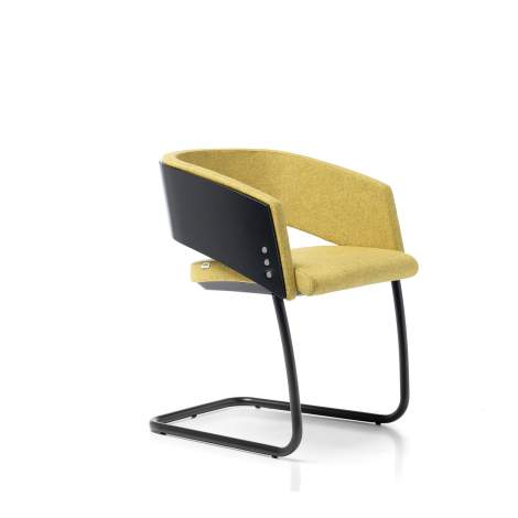 Major Low Back Chair With Sled Base, Sitia Italy
