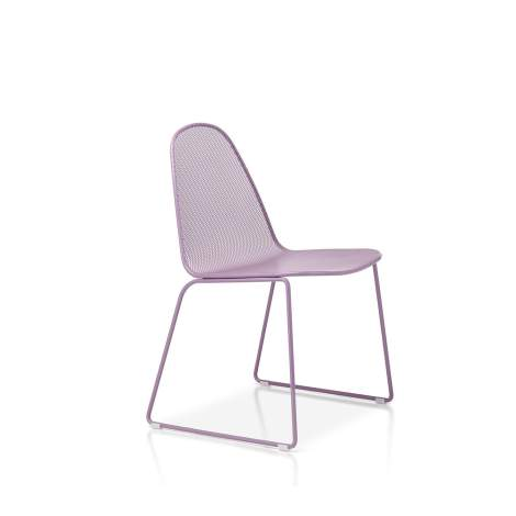 Moon Dining Chair With Sled Base, Sitia Italy
