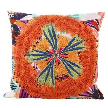 Neda Embroidered Pillow, Missoni Home