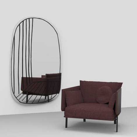 New Perspective Mirror, Bonaldo Italy
