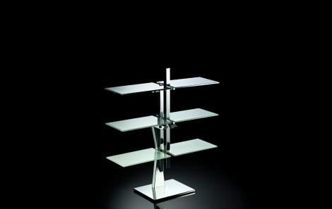 Newton Dining Table/Shelf, Naos Italy