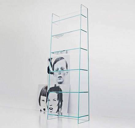 Olympia Bookcase/CD Rack, Sovet Italia