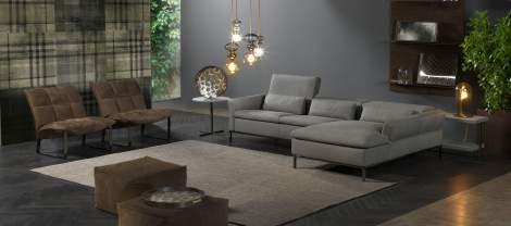 Orlando Sectional Sofa, Cierre Italy