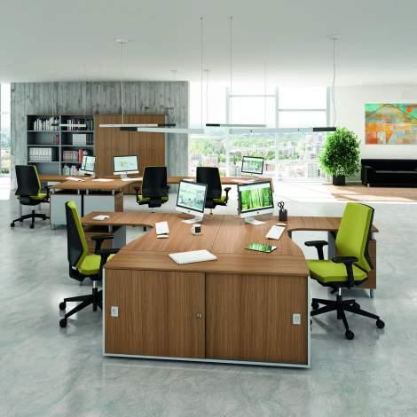 Practika P3 Office Desk, Quadrifoglio Italy
