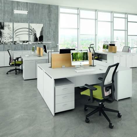 Practika P4 Office Desk, Quadrifoglio Italy