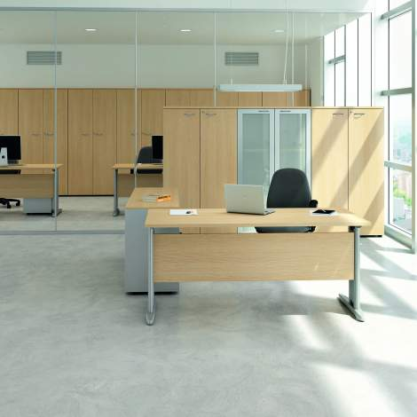 Practika P1 Office Desk, Quadrifoglio Italy