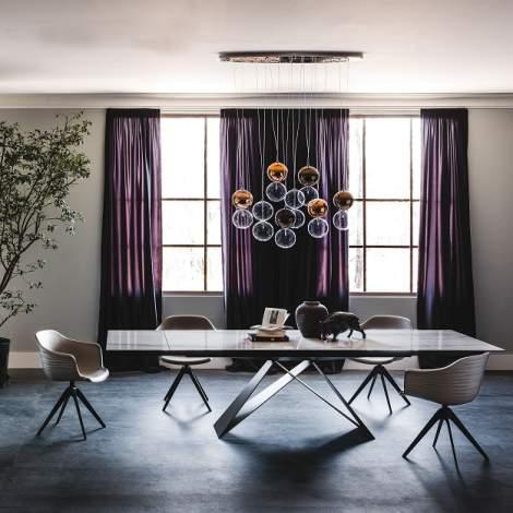 Premier Keramik Drive Dining Table, Cattelan Italia