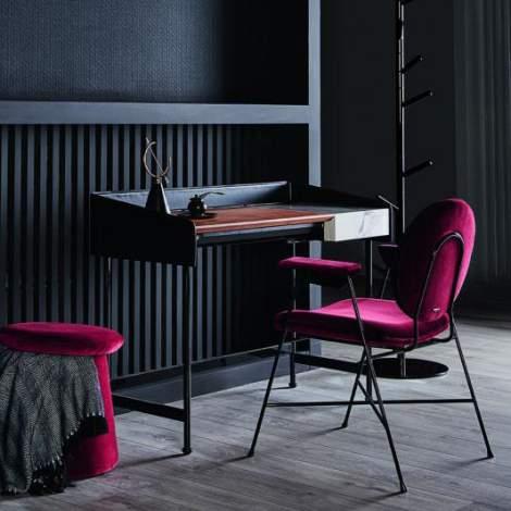 Secret Desk With 3 Small Storages, Bontempi Casa