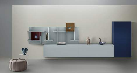 Settle Wall Unit, My Home Collection Italy