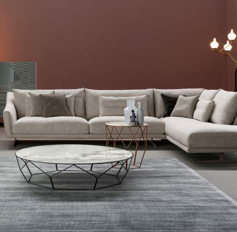 Skid Sectional Sofa, Bonaldo Italy