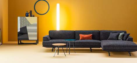 Slab Plus Sectional Sofa, Bonaldo Italy