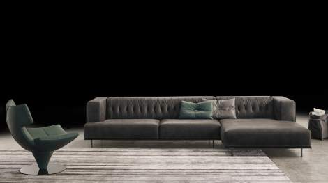 McQueen Sectional, Gamma International  Italy
