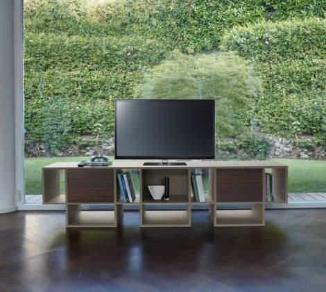 Spinnaker Bookcase/TV Stand, Antonello Italia