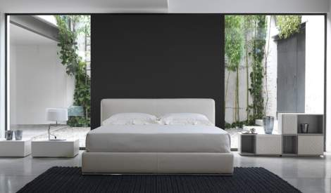 Thin Leather Bed, Cierre Italy