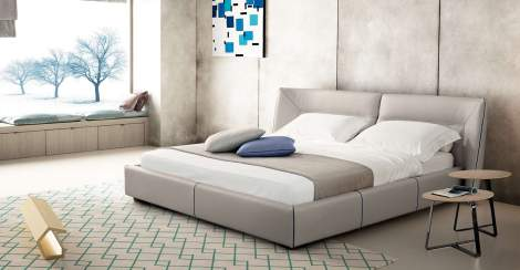 Tulip Night Bed, Gamma International Italy