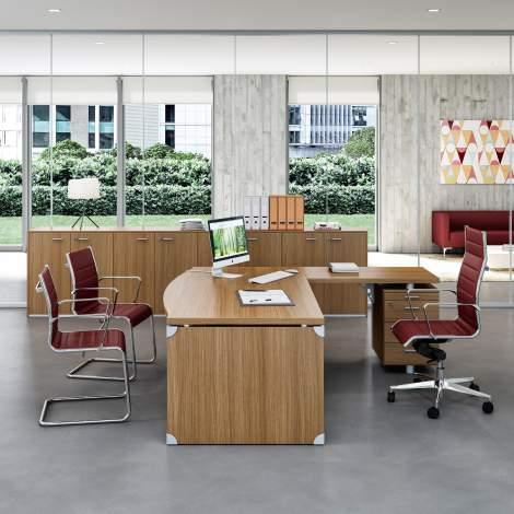 X-Time Work Office Desk, Quadrifoglio Italy