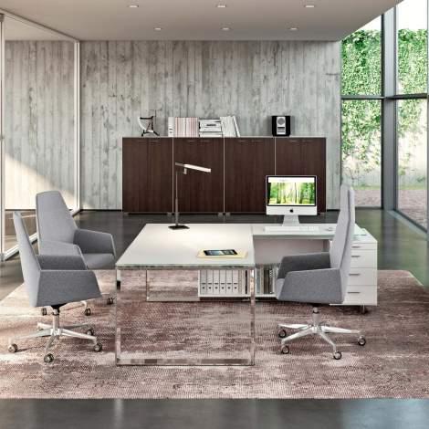 X7 Office Desk, Quadrifoglio Italy