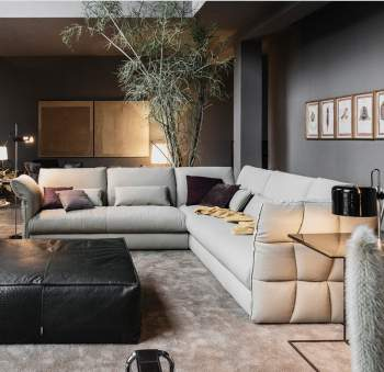 Eva Due Sectional Sofa, Cierre Italy
