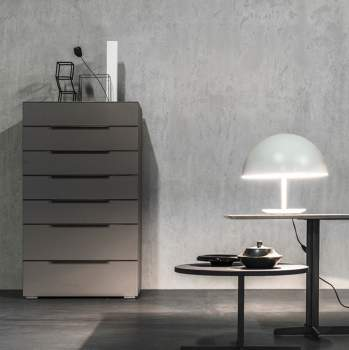 Square Seven Drawers Chest, Cierre Italy