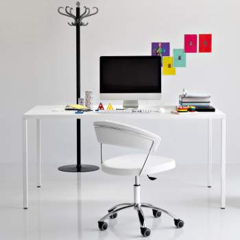 CB/624-SK New York Office Chair, Connubia by Calligaris Italy