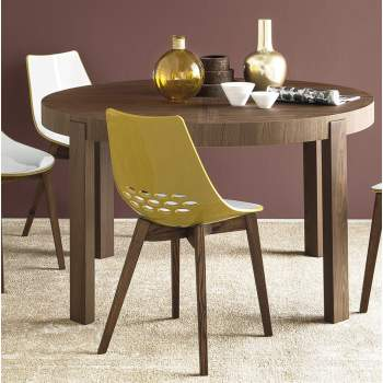 CB/398-RD Atelier Round Dining Table, Connubia by Calligaris Italy