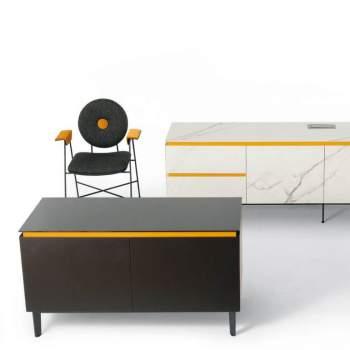 Cosmopolitan Glass Sideboard, Bontempi Casa