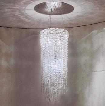 Cristalli Ceiling Lamp, Rugiano Italy
