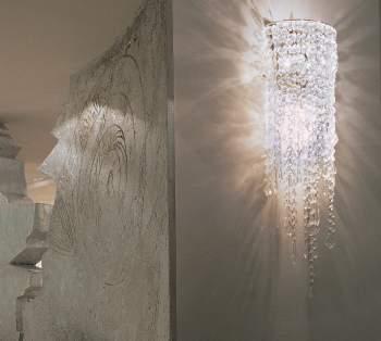 Cristalli Wall Lamp, Rugiano Italy