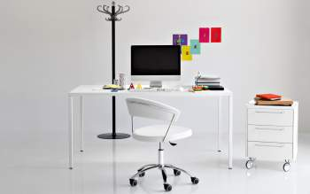 CB/624-LH New York Swivel Chair, Connubia by Calligaris Italy