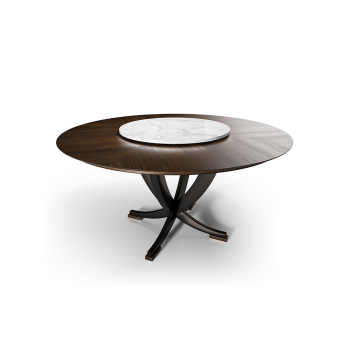 Eclipse Round Dining Table, Cipriani Homood Italy