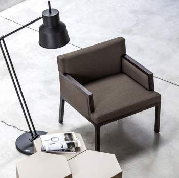 Flux Lounge Chair, Bross Italy