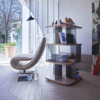 Fenice Bookcase, Tonin Casa