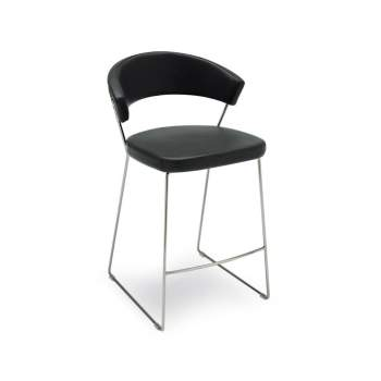 CB/1087-SK New York Counter Stool, Connubia by Calligaris Italy