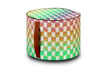 Pailin Cylindrical Pouf, Missoni Home