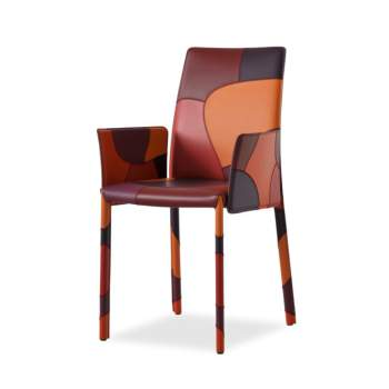Patchwork - P Chair With Arms, Airnova Italy