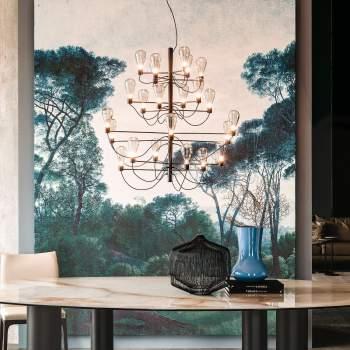Poseidon Ceiling Lamp, Cattelan Italia