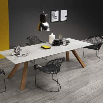 Zeus LG C Dining Table, Midj Italy