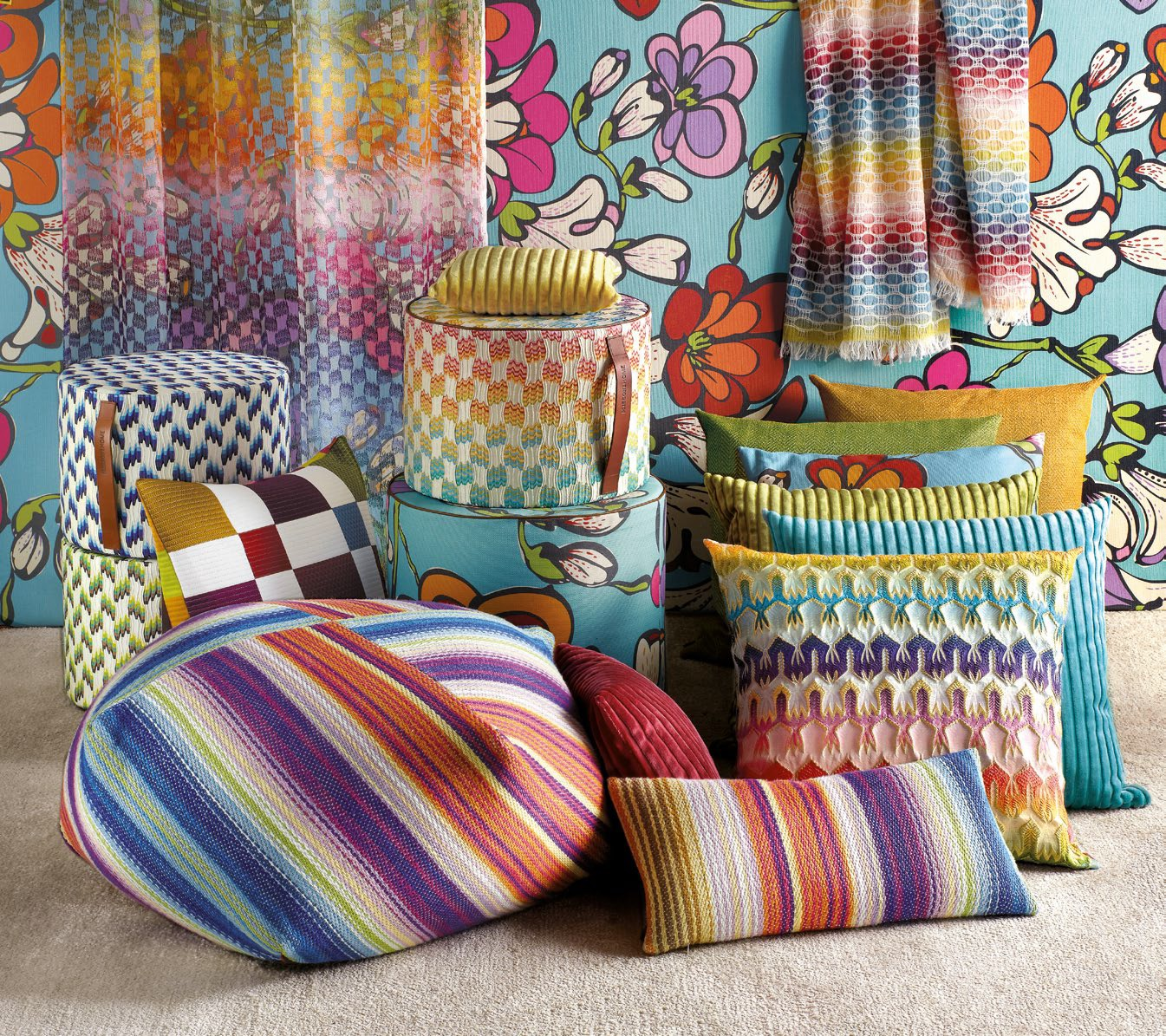 Il decor boston a distinct line of missoni home furnishings for Home furnishing items