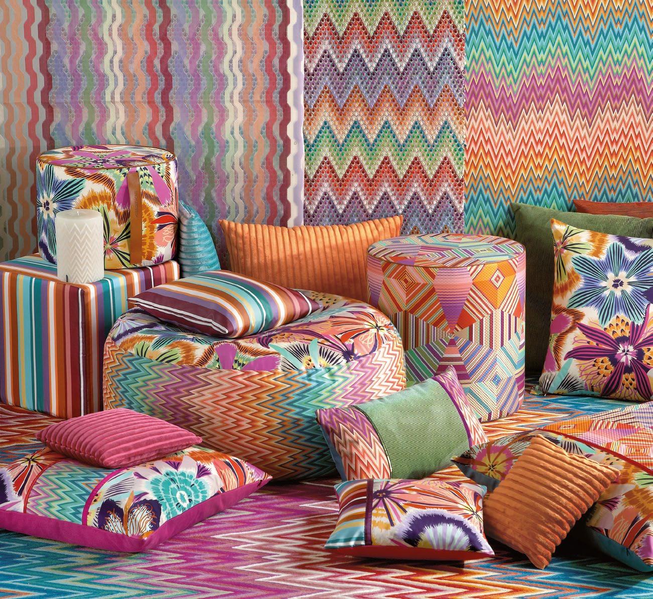 Missoni Home Cordula Chair: IL Decor Furniture: Contemporary Furnishing Boutique