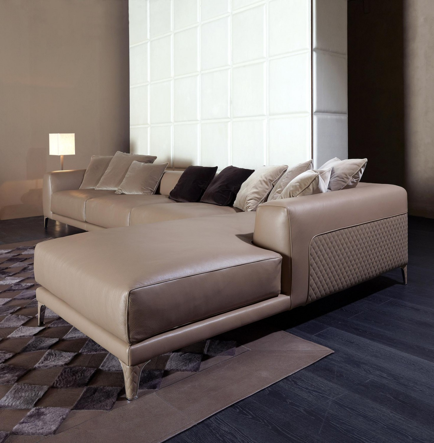 IL Decor Furniture Leon Sofa Sectional Rugiano Italy