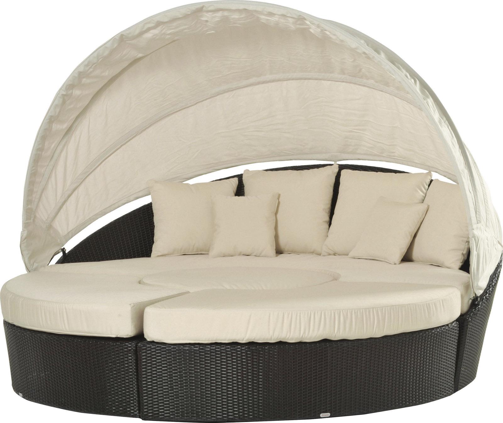 Il decor boston arena semicircolare sofa with hood varaschin italy - Sofa color arena ...